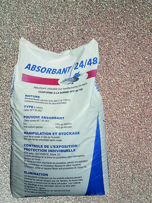 ABSOMON : 2 sacs de 35 L - absorbant routes