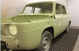 Démo APREDUR & POLYADUR sur véhicules anciens