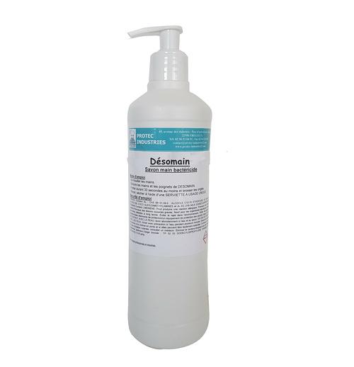 SAVON DESOMAIN : savon bactéricide haute efficience