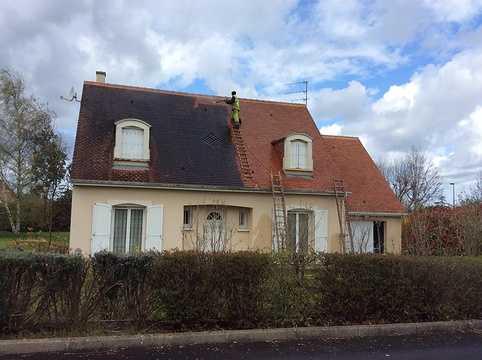 FACONET pour démousser & nettoyer les facades et toitures avant