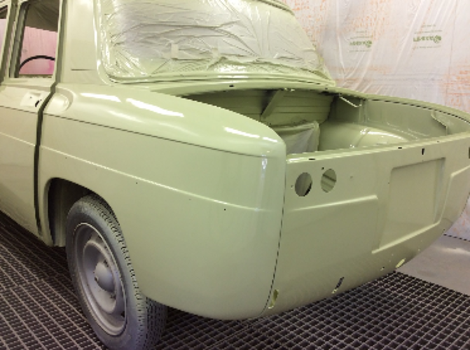 Démo APREDUR & POLYADUR sur véhicules anciens vehiculeanciens
