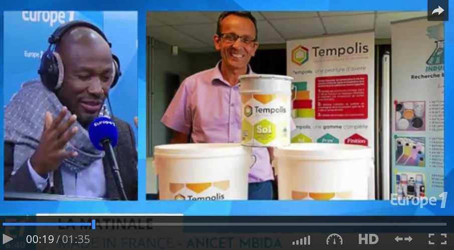 Europe 1 , reportage en video sur Protec Industries 0