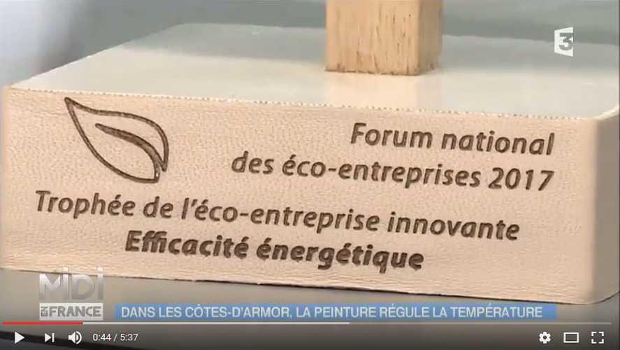 France 3, reportage en video sur Protec Industries 0