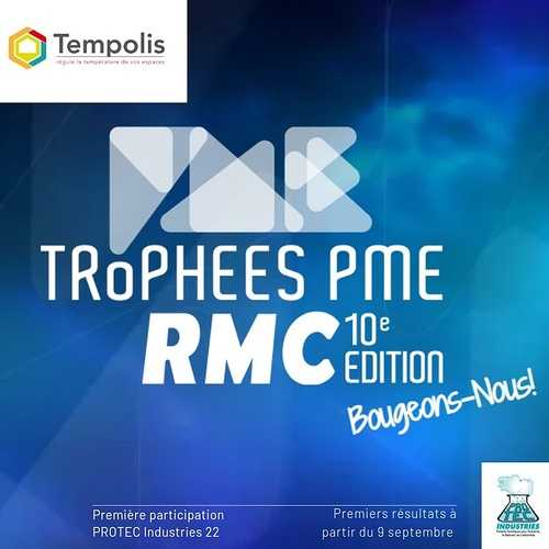 La peinture thermorégulante TEMPOLIS en lice pour les trophées des PME d'RMC 0