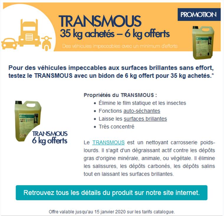 transmous - 35kg achetes - 6 kg offerts