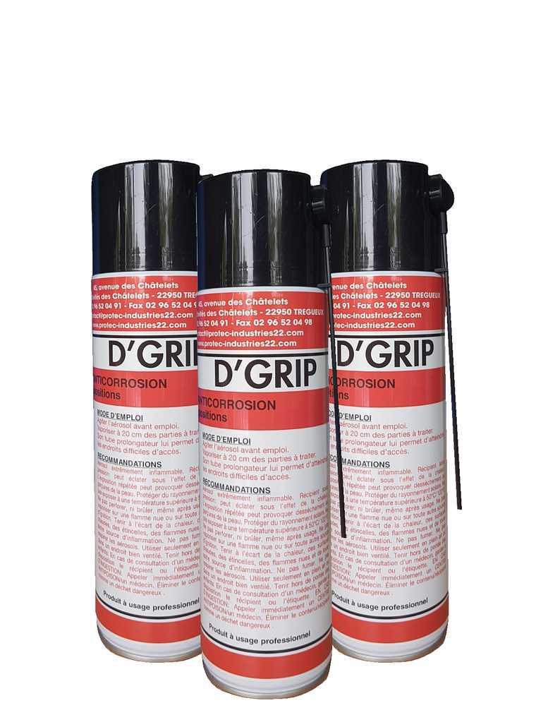 d grip aerosol : degrippant anti-humidite (12 aerosols)
